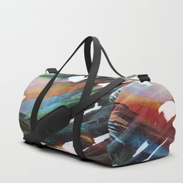 Abstract Mountains II Duffle Bag