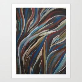 Nature Flow Art Print