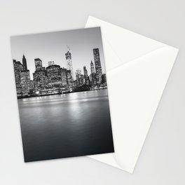 New York City Skyline - Financial District Stationery Cards