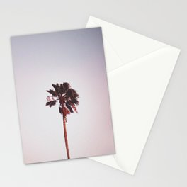 Pink Palm Tree Stationery Cards
