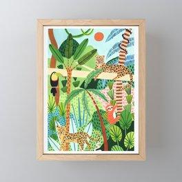 Jungle Pals Framed Mini Art Print