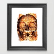 mosaica skully Framed Art Print