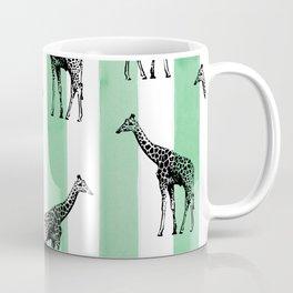 Stripes & Giraffes Coffee Mug