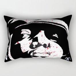 Notorious Big - Who Shot Ya? Rectangular Pillow