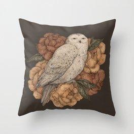 Snowy Owl Deko-Kissen