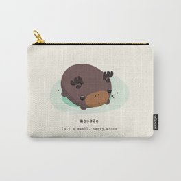 Chocolate Moosle Carry-All Pouch