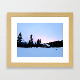 Good morning! Framed Art Print