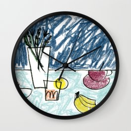 Fresh Drinks Wall Clock