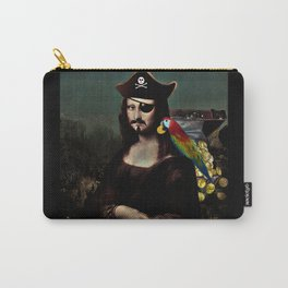 Mona Lisa Pirate Captain Carry-All Pouch