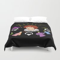denmark Duvet Covers featuring Hamlet - Prince of Denmark by TheScienceofDepiction