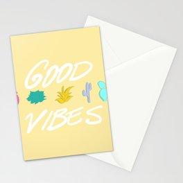 good vibe cacti Stationery Cards
