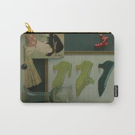 Still life with a coral beads Carry-All Pouch