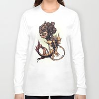 seahorse Long Sleeve T-shirts featuring SEAHORSE by Tim Shumate