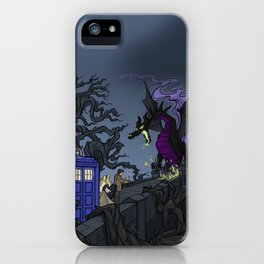 And Now You Will Deal with ME, O' Doctor iPhone Case