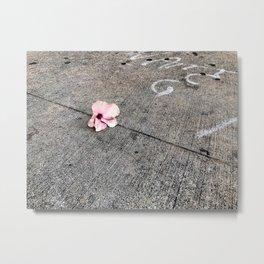Sidewalk Metal Print