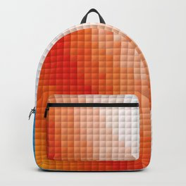 Square Color Space Backpack