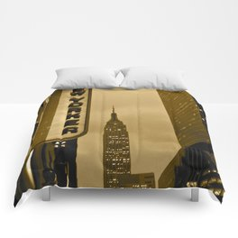 New Yorker Empire State Building Comforters