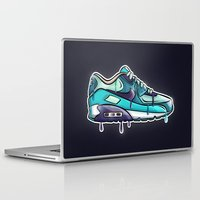 nike Laptop & iPad Skins featuring Nike air drop by blackbunny