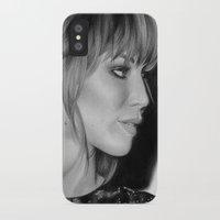 jennifer lawrence iPhone & iPod Cases featuring Jennifer Lawrence by Emma Porter