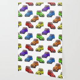 2cv pattern big Wallpaper