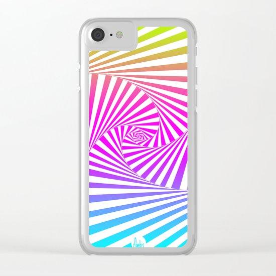 Summer Twista 3 Clear iPhone Case
