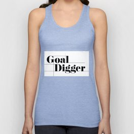 Office Art: Goal Digger Unisex Tank Top