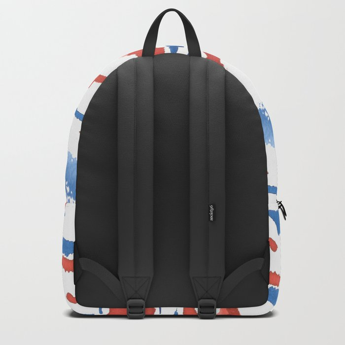 aquarela stains Backpack