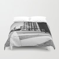 atlanta Duvet Covers featuring Atlanta Downtown by GF Fine Art Photography