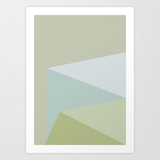 Cube 3 Art Print
