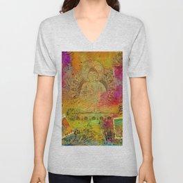 Ethereal Buddha Unisex V-Neck