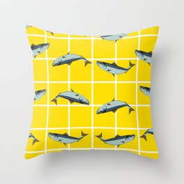 Ice Cream Sardines #2 Throw Pillow