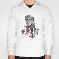 blade runner Hoodies featuring Blade Runner by Duke Dastardly