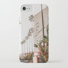 The Beverly Hills Hotel / Los Angeles, California iPhone Case