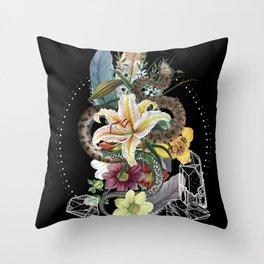 Tough and Tender Magic Design Throw Pillow
