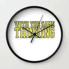 Hilarious Problem Solve Tshirt Design Create them Wall Clock