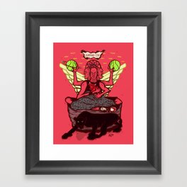 jumpmanism Framed Art Print