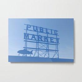 Pike Place - Public Market (Seattle, WA) Metal Print
