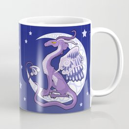 Vendel Dragon - the moon Coffee Mug