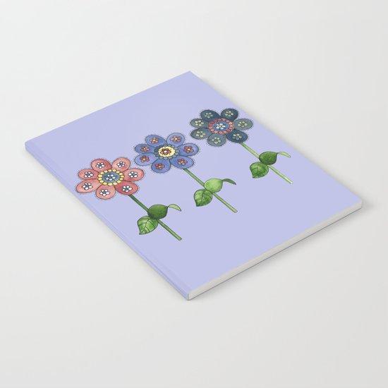 Flower Row Notebook