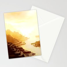 Mysterious Mountains Waterway Stationery Cards