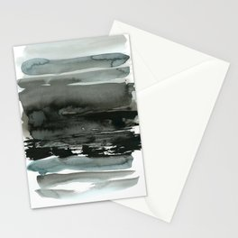 layered ink Stationery Cards