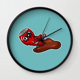 Fizzy Pop Characters - Spilt Cola Cartoon Wall Clock