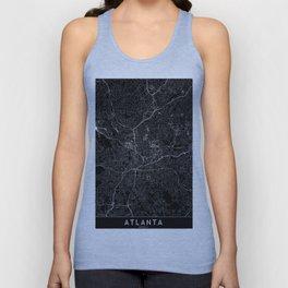Atlanta Black Map Unisex Tank Top