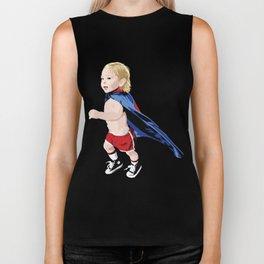 Superhero Kid Biker Tank