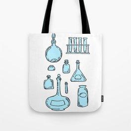 Potions Bottles Design — Apothecary Glass Jars Illustration Tote Bag