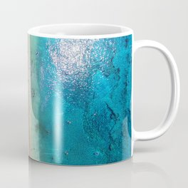 AERIAL. Summer beach Coffee Mug
