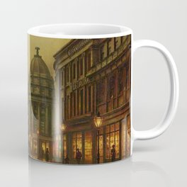 Grainger Street, Newcastle upon Tyne, England by Louis H. Grimshaw Coffee Mug