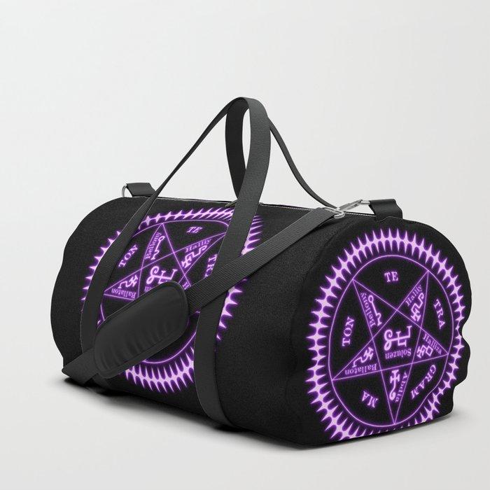 Sebastian Michaelis Sigil Light (black bg) Duffle Bag