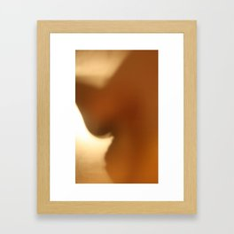 'Untitled 9' - Body language series. Framed Art Print