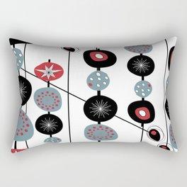 Mid-Century Modern Art Atomic Cocktail Rectangular Pillow